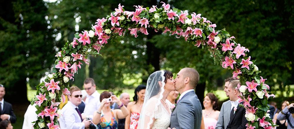 Symbolic Wedding Ceremony In Italy