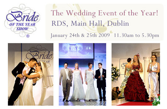 BRIDE OF THE YEAR SHOW DUBLIN RDS